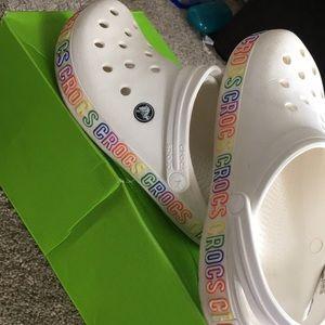CROCS Shoes | Rainbow Colorful Crocs